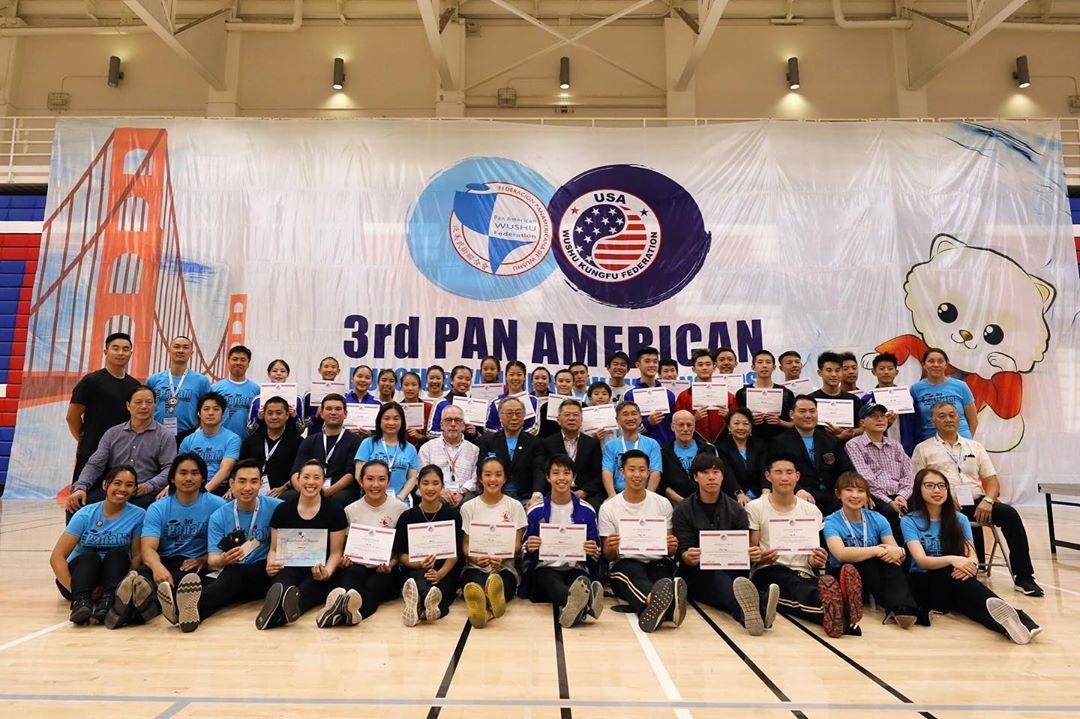 2019 USA Wushu Team Trials Judging Brandon Sugiyama